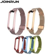 Buy mi <b>band</b> 4 <b>stainless steel wristband</b> and get free shipping on ...