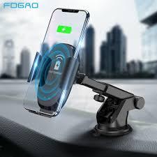 TOPK Wireless <b>Car</b> Charger Mount,<b>Qi 10W</b> 7.5W <b>Fast</b> Charging <b>Car</b> ...