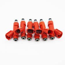 <b>6pcs</b>/lot High Flow Rate <b>Fuel Injector</b> For Supra 2JZGFE 850CC