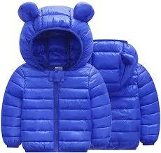 Kids Baby Boys Girls Hooded Snowsuit Warm Winter ... - Amazon.com