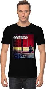 <b>Футболка классическая Printio</b> Noel Gallagher's <b>High</b> Flying Birds ...