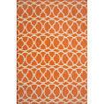 Outdoor rug orange