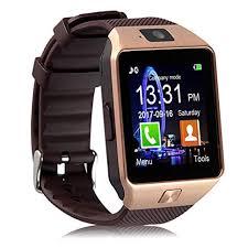 Piqancy <b>DZ09 Bluetooth Smartwatch</b> (Gold): Amazon.in: Computers ...