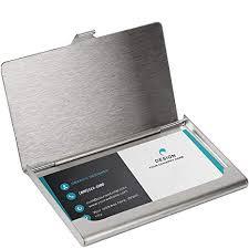 SunplusTrade Professional Metal <b>Business Card Holder</b> Pocket