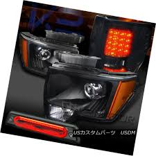 Automotive Parts & Accessories FOR 09-14 FORD F150 <b>BLACK</b> ...