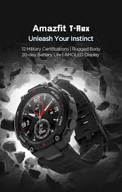 Amazfit <b>T</b>-<b>Rex</b> | Learn More About Amazfit Smart Military Watches