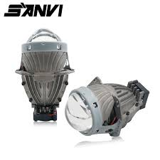<b>Sanvi 3inch</b> 35W 5500K Hi Low Beam Car Light Super Bright Bi ...