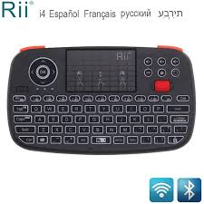 <b>Rii RT726</b>(i4) Mini <b>Bluetooth</b> Keyboard Russian French Hebrew ...