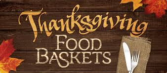 Image result for thanksgiving basket distribution