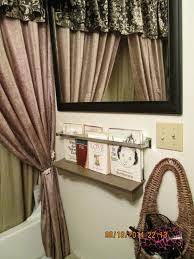 guest bathroom towels: frugalicious chick bathroom towel bar book shelf holder amp plate