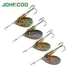 <b>4pcs</b>/<b>Lot</b> Spinner <b>Bait Fishing Lure</b> Metal Spoon 5.6g 10g 14g ...
