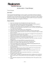 job resume skills examples resume examples for s jobs template other template category page 1009 sawyoo com project management job examples project management job description resume