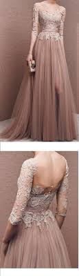 Charming Prom Dress,Tulle Prom Dress,Half-Sleeves Prom Dress ...