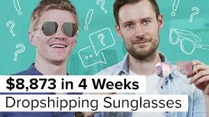 How I made $8,873 <b>Dropshipping</b> Sunglasses - YouTube
