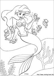 Small Picture Mermaid Coloring Pages Printable nebulosabarcom