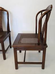 set of four asian inspired chairs by henredon furniture 2 asian inspired furniture