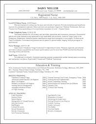 new registered nurse resume sample registered nurse resume example new registered nurse resume sample of rn resume
