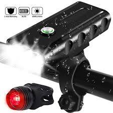 <b>Lights</b> & Reflectors Sporting Goods 3LED <b>USB</b> Rechargeable <b>Bike</b> ...