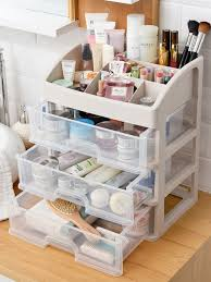 <b>Cosmetic</b> Box Simple Multipurpose Drawer Type <b>Desktop Storage Box</b>