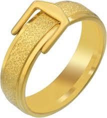 memoir Gold Plated Brass Belt <b>Buckle</b> Design Fashion Finger <b>Ring</b> ...