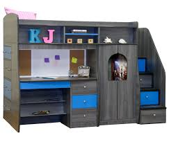 berg furniture play and study twin size loft bed kids bedroom furniture berg bunkbeds with stairs bunk beds stairs desk