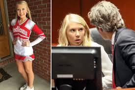 Cheerleader, 18, 'smashed her <b>newborn daughter's</b> skull, set her on ...