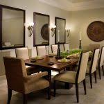 dining room khaki tone:  wall candle sconces dining room contemporary with wall lighting table setting earth tone colors wall lighting