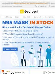 Gearbest IT: N95 <b>Mask</b> In Stock: Ultimate Guide for Getting N95 ...