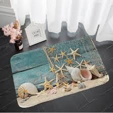 <b>Shanghaojupin</b> Shell Flower Type Non-slip <b>Flannel Floor</b> Mat ...