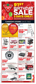 canadian tire birthday flyer to