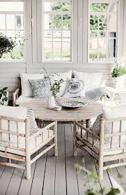 beach cottage sitting area with cute bamboo style furniture beach house style furniture