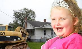 Honey Boo Boo's Georgia home 'to be torn down' as diggers move in ... via Relatably.com