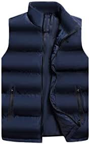 ATGTAOS <b>Large Size Mens</b> Vest <b>Autumn</b> and Winter Down Cotton ...