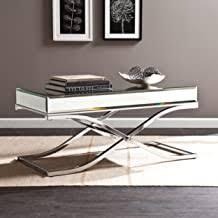 Mirrored Coffee Table - Amazon.com