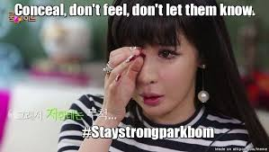 Stay strong park bom | allkpop Meme Center via Relatably.com