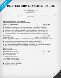 truck driving skills for resume   truck driver resume skills    delivery driver resume sample