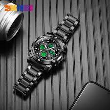 <b>SKMEI Men's Quartz</b> Watch Luxury Sport <b>Digital</b> Wristwatch ...