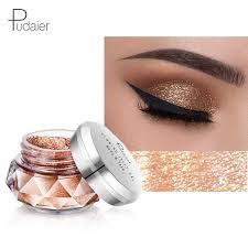 <b>Pudaier</b> 18 Colors Shadows <b>Sparkle Glitter EyeShadows Shimmer</b> ...