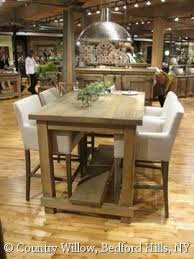 table bar height chairs diy: country willow furniture rectangular bar height bar height table diycounter