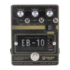 <b>EB</b>-<b>10</b> Preamp // EQ // Boost – Walrus Audio