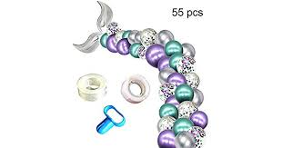 Hamkaw <b>Mermaid</b> Tail <b>Balloon</b>, Girl Birthday <b>Party</b> Decorations ...