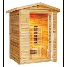 SunRay Burlington <b>2</b>-<b>Person Outdoor</b> Infrared Sauna-HL200D - The ...
