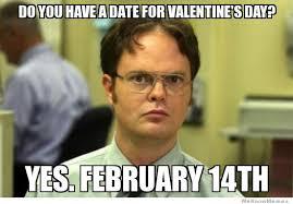 Valentines Day Memes - Single On Valentine's Day Memes via Relatably.com
