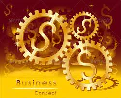 business concept rotation mark gold dollar concepts business business concepts