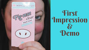 <b>Pig nose clear</b>, <b>black</b> head, perfect sticker | Demo & First Impressions!