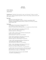 bar back resumebarback resume sample