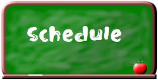 Image result for schedule clipart