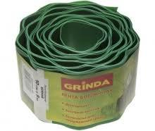 <b>Лента бордюрная</b> зеленая 10см х 9м <b>Grinda Grinda</b> 0 422245-10 ...