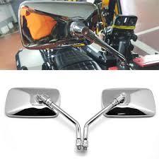 <b>Universal</b> Rectangle Shaped <b>Motorcycle</b> Handlebar Rear View Side ...