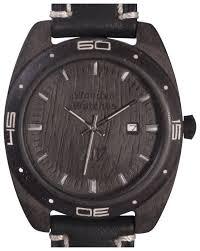 Купить Наручные <b>часы AA</b> Wooden <b>Watches</b> S2 Black по ...